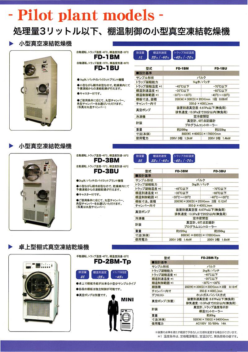 真空凍結乾燥機, フリーズドライヤー, 凍結乾燥機 ブルーラグーン セル・ダイアグノスティックス,