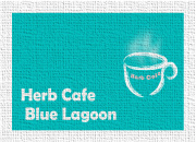 Herb Cafe  Blue Lagoon Blue